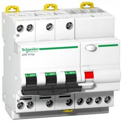 Intrerupator automat Schneider A9D41740 - Acti 9 DPN N Vigi - RCBO - 3P+N - 40A - C Curve - 6000A - 300mA - type AC