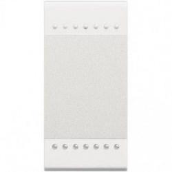 Intrerupator Bticino N4003A Living Light - Intrerupator cap scara 16A - 250V, 1 modul, borne automate, alb
