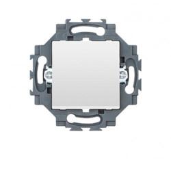Intrerupator Geiwss GW35031W Dahlia - Intrerupator simplu, 1P, 10AX, alb