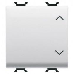 Intrerupator Gewiss GW10123 Chorus - Intrerupator stroruri, 3 pozitii, 2M, 1P, 10AX, alb