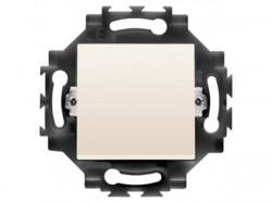 Intrerupator Gewiss GW35011Y Dahlia - Intrerupator cap scara,iluminabil, 1P, 10AX, Ivory