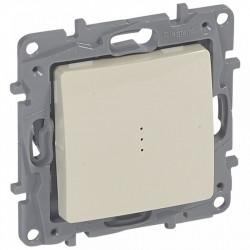 Intrerupator Legrand 664610 Niloe - Intrerupator cap-scara cu lumina de control, 10AX, ivoar
