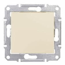Intrerupator Schnedier SDN0400547 Sedna - INTRERUPATOR CAP SCARA IP44, 10 AX - 250 V BEJ