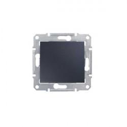 Intrerupator Schneider SDN0100170 Sedna - Intrerupator simplu, 10 AX - 250 V Grafit