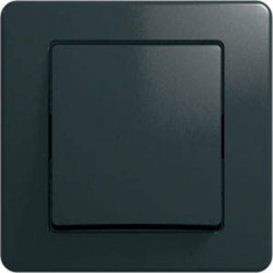 Intrerupator Tem SE60NB-B Ekonomik - Intrerupator cap scara negru
