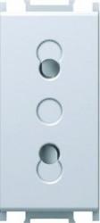 Priza Tem VM20PW-B Modul - Priza simp CP 1m alb
