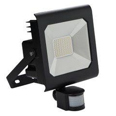 Proiector LED Kanlux 25708 ANTRA - Proiector cu senzor miscare, 50W, 4000k, IP44, negru