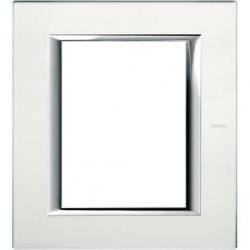 Rama Bticino HA4826VSA Axolute - Rama din sticla, rectangulara, 3+3 module, st. italian, mirror glass