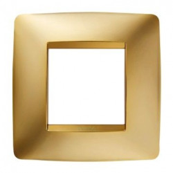 Rama Gewiss GW16122MO Chorus - Rama One International, 1P, 2M, oriz, tehnopolimer metalizat, auriu