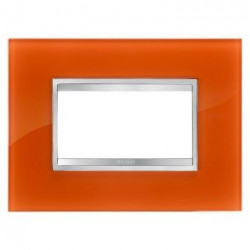 Rama Gewiss GW16604CI Chorus - Rama Flat 4M, sticla, portocaliu opal