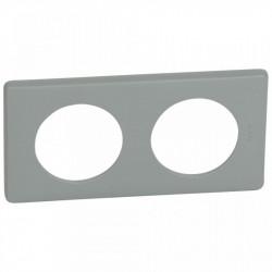 Rama Legrand 68742 Celiane - Rama 2 posturi, polimer, interax 71mm, ciment