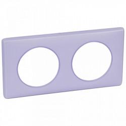 Rama Legrand 68882 Celiane - Rama 2 posturi, polimer, interax 71mm, lavanda
