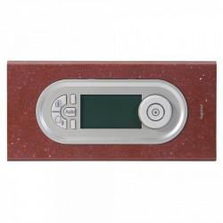 Rama Legrand 69185 Celiane - Rama 4/5 module, din termoplastic, corian rosu pompei