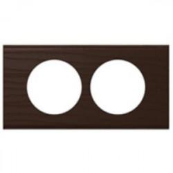 Rama Legrand 69208 Celiane - Rama din lemn, 2 posturi, interax 57mm, wenge