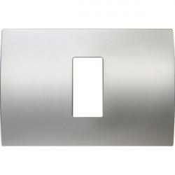 Rama Tem OP13MS-U Modul - Rama metalica decorativa Pure 1/3m argint satinat