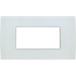 Rama Tem OP40GW-U Modul - Rama din sticla decorativa Pure 4m alb gheata