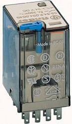 Releu Finder 553490122090 - Releu comutatie 12V, DC, 4C, 7A