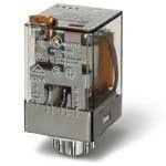 Releu Finder 601280240050 - Releu comutatie 24V, AC, 2C, 10A