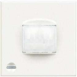 Senzor miscare Bticino HD4610 Axolute - Senzor infrarosu pasiv cu detectie volumetrica , 2M, raza de actiune 8m, 230V, 2A, alb