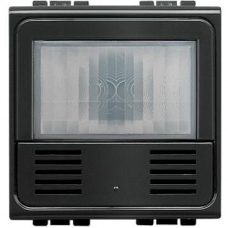 Senzor miscare Bticino L4658N Living Light - Senzor de miscare cu infrarosu, 2M, negru