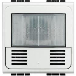 Senzor miscare Bticino N4433N Living Light - Senzor de miscare, 2.5A, 2M, alb