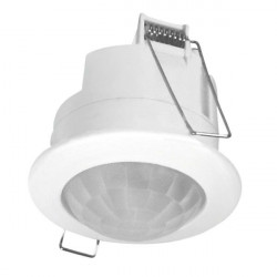 Senzor miscare Kanlux 7691 JQ-O MERGE - Senzor PIR, 360gr, max 2000 VA, IP20, alb