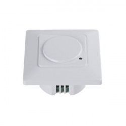 Senzor miscare Kanlux MERGE MW-L 23453 - Senzor miscare incastrat, IR, 180 grade, IP20, alb