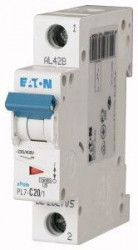 Siguranta automata Eaton 262705 - DISJUNCTOR PL7-C20/1 1P, 20A, 10kA, C