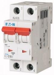 Siguranta automata Eaton 263357 - DISJUNCTOR PL7-C10/2 2P, 10A, 10kA, C