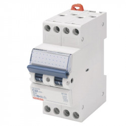 Siguranta automata Gewiss GW90087 - DISJUNCTOR COMPACT MCB 4P 16A 4,5KA C 2M
