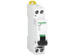 Siguranta automata Schneider A9N21539 - DISJUNCTOR IDPN 1P-N, 25A, 4.5kA, B, 230V