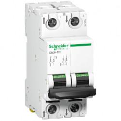 Siguranta automata Schneider A9N61528 - DISJUNCTOR C60H-DC 500Vcc 2P 10A 6kA C