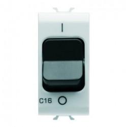 Siguranta Gewiss GW10463 Chorus - Disjunctor modular, 1M, 1P, 16A, curba C, 3kA, alb