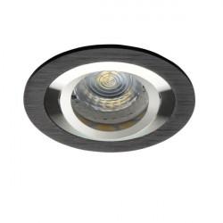Spot Kanlux 18288 SEIDY - Spot dublu directional, incastrat, Gx5,3, 12V , max 50W, IP20, negru anodizat