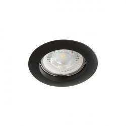 Spot Kanlux 25995 VIDI CTC - Inel spot fix incastrat GU5,3, max 50W, IP 20, negru