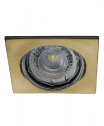 Spot Kanlux 26735 ALOR-DTL - Inel spot directional incastrat LED GU10, max 35W, IP 20, alama periata