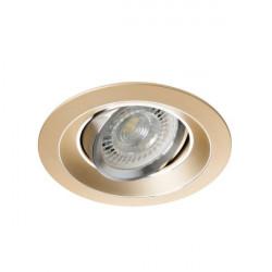 Spot Kanlux 26741 COLIE DTO - Inel spot directional incastrat LED GU10, max 35W, IP 20, auriu