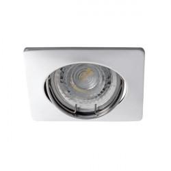 Spot Kanlux 26751 NESTA - Inel spot directional incastrat LED GU10, max 35W, IP 20, crom