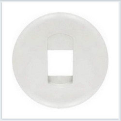 Tasta Legrand 68211 Celiane - Placa pentru priza semnal audio 67311, alb