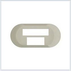 Tasta priza date Legrand 68254 Celiane - Placa pentru swicth 6 porturi celiane 67371, alb