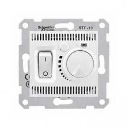 Termostat Schneider SDN6000321 Sedna - Termostat de pardoseala 10 A - 230 V, alb