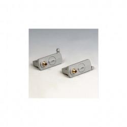Adaptor Arelux Track TK1017 S - Adaptor pentru sine cu trei circuite 3C, argintiu