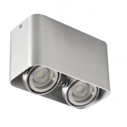 Aplica Kanlux 26121 TOLEO DTL - Plafoniera 2xmax 25W, Gu10, IP20, aluminiu periat