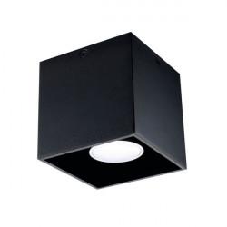 Aplica Kanlux 27030 ALGO - Corp iluminat GU10 CL-B 40W negru