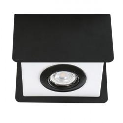 Aplica Kanlux 28461 Torim - Plafoniera TORIM DLP-50 B-W, GU10, 1x35W, negru/alb