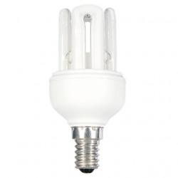 Bec Kanlux 12697 4U MINI XEU48 - Bec CFL, 9W, E14, 2700k, 410lm