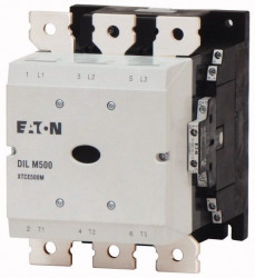 Contactor Eaton 208214 - Contactor putere DILM500/22(RAC500)-Contactor 250 kW, regim AC-3