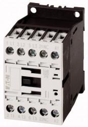 Contactor Eaton 276570 - Contactor putere DILM7-10(*VDC)-Contactor 3KW, regim AC-3