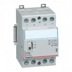 Contactor modular Legrand 412563 - CX3 CT 230V 4P 400 V~ - 63 A - silent