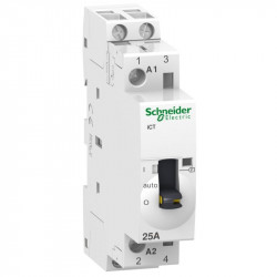 Contactor modular Schneider A9C21532 - iCT 25A 2Nd 220V 50Hz